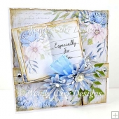 SHABBY BOOK CARD