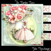 The Garden Gate Card Front Kit