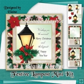 Festive Lampost Mini Kit