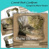 Central Park Cardfront with Inverted Pyramage