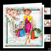 Flowers and Shopping 2 Mini kit