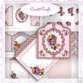 Gatefold card set 5