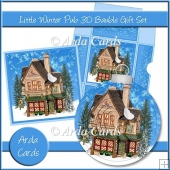 Little Winter Pub 3D Bauble Gift Set