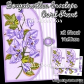 Bougainvillea Envelope Card Front