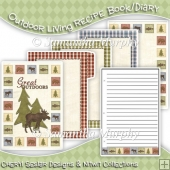 Outdoor Living Recipe Book/ Mini Diary