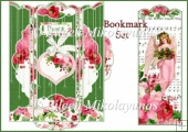 Peace on Earth Christmas Angel Bookmark Set with Envelope