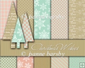 Christmas Wishes Pastel Christmas Paper Pack.