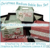 Christmas Medium Gable Box Set