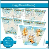 Happy Bunnies Bunting