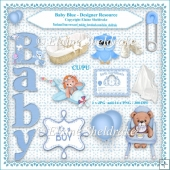 Baby Boy Blue - Designers Resource Kit