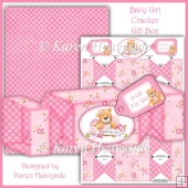 Baby Girl Cracker Gift Box