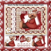 Mum To Be Congratulations Card Front