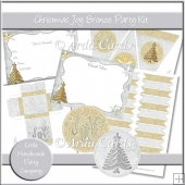 Christmas Joy Bronze Party Set