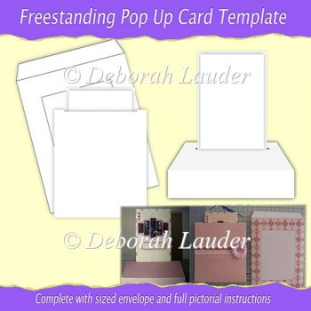 ... Card Templates :: Freestanding Pop Up Card Template