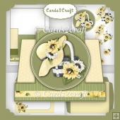 Sunflower stepper card