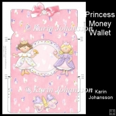 Princess money wallet