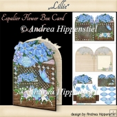 Espalier Flower Card Lillie