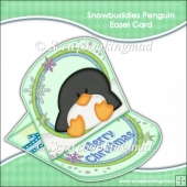 Snowbuddies Penguin Easel Card