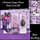 Christmas Sugar Plums - Panel Card Kit