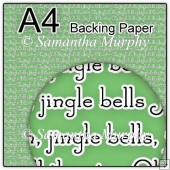 ref1_bp673 - Green Christmas Jingle Bells