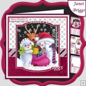 CHRISTMAS GIFTS 7.5 Decoupage & Insert Mini Kit