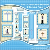 Boy's Communion Waterfall Download