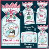 Polar Pals Cracker Top Card Set