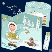 Eskimo Boy and Friends Card Kit