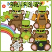Little Irish Bears Commerical Use Clip Art