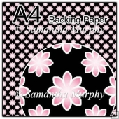ref1_bp390 - Black & Pink Flowers