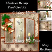 Christmas Message - Panel Card Kit