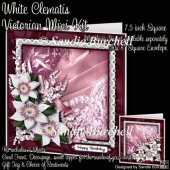 White Clematis Victorian Mini Kit