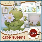 Toadily Cute Shaped Fold Card Kit