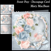 Sweet Posy - Decoupage Card