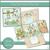 Pond Life Twist & Pop Card
