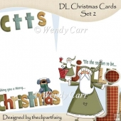 Christmas Cards Set 2 DL(Retiring in July)