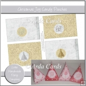 Christmas Joy Candy Pouches
