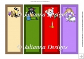 Nursery Rhymes Book Marks 2