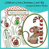 Children's Own Christmas Card Kit