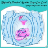 Typically Tropical Double Pop-Out Card