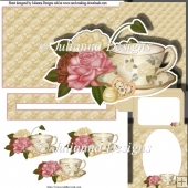 Chocolate Roses and Tea Slider Set