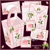 Rose Repose Stationery Gift Set