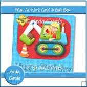Men At Work Card & Gift Box