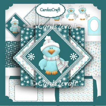 Winter birdie triangle pop up set