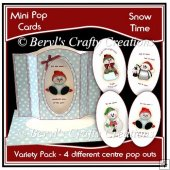 Mini Pop Cards Variety Pack - Snow Time