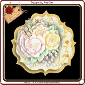654 Roses & Flowers Decoupage *MACHINE Formats*