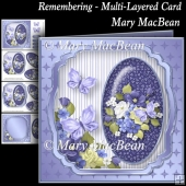 Remembering - Multi-Layered Card