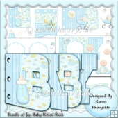 Bundle Of Joy Baby Boy Word Book