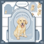 Golden Labrador card set