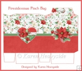 Firesidechristmas Pinch Bag